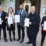 El PSOE pide a De la Torre que abandone su actitud partidista y exija la cesión de la Lex Flavia Malacitana al gobierno central para su exposición en el Museo de Málaga